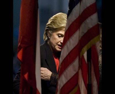 Hillary Clinton em campanha eleitoral