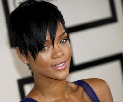 Rihanna na 50ª cerimónia dos Grammy Awards