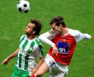 Leandro e Fernandes, Sp. Braga vs V. Setúbal (Estela Silva/Lusa)