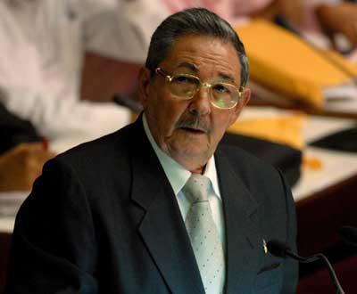Raúl Castro, o novo presidente de Cuba - Foto Lusa/EPA