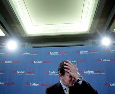 Durão Barroso, presidente da Comissão Europeia - Foto Lusa/EPA