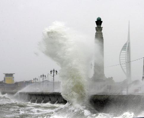 Tempestade (foto de arquivo)