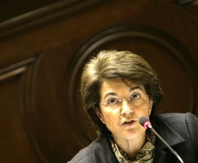 Ministra da Saúde, Ana Jorge [Mário Cruz/Lusa]