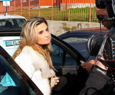 Carolina Salgado ouvida em julgamento (Foto Lusa - João Abreu Miranda)