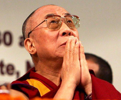 Dalai Lama na Índia (Foto Lusa)