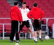 Gerrard na véspera do Arsenal-Liverpool