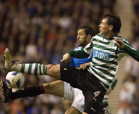 Polga e Hemdani, Rangers vs Sporting