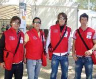 Pedro Roma, Ricardo, Pedrinho e Nuno Piloto ajudam sem-abrigo