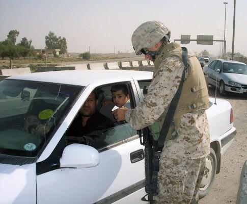 Ricardo Cruz, cidadão português ao serviço do exército norte-americano no Iraque